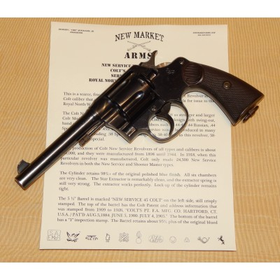 Colt New Service Revolver Royal NW Mounted Police c. 1918