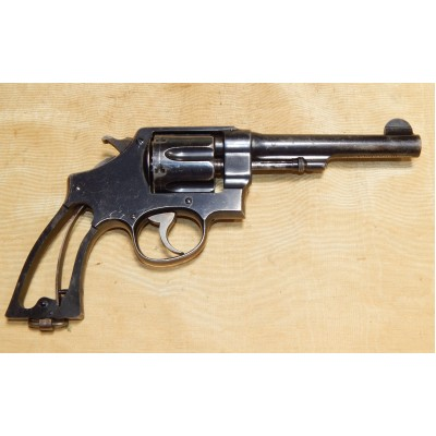 Early WWI S&W Model 1917 .45 Revolver, 125th Inf Regt, 32d Div